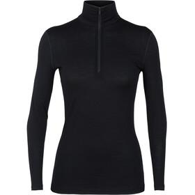 Icebreaker W's 200 Oasis LS Half Zip Shirt black